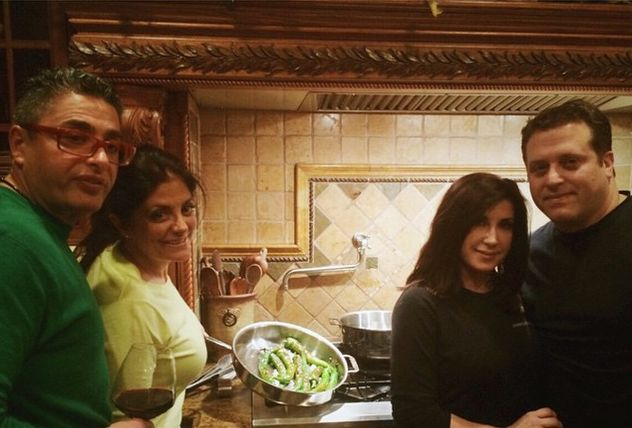 True Friends: Kathy Wakile & Jacqueline Laurita Bond Over Dinner Two Nights In A Row!... Please read more and join in at: http://allaboutthetea.com/2014/12/29/rhonj-friendship-kathy-wakile-and-jacqueline-laurita-bonding-over-dinner/