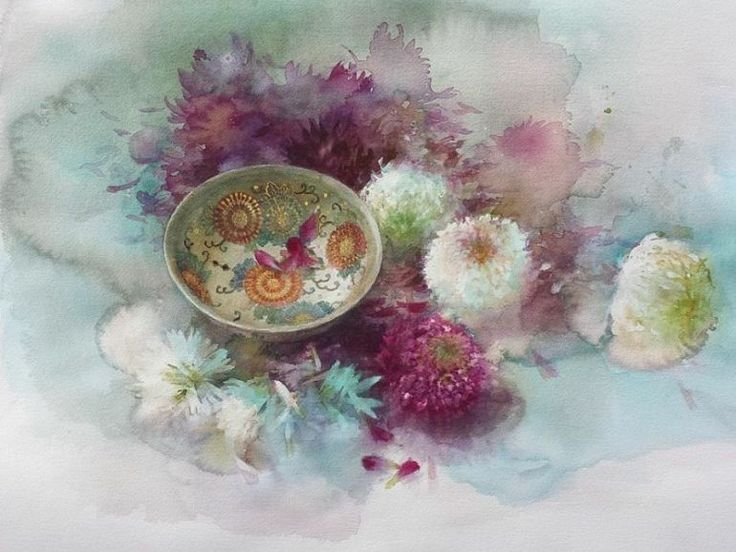 adelaparvu.com despre picturi acuarela, artist Yuko Nagayama (24)