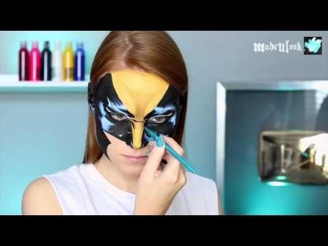 Comic Book Wolverine Makeup Tutorial (Marvel) - YouTube