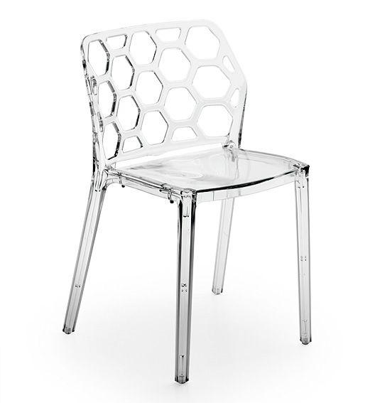 Mejores 15 im genes de sillas transparentes en pinterest for Sillas cocina transparentes