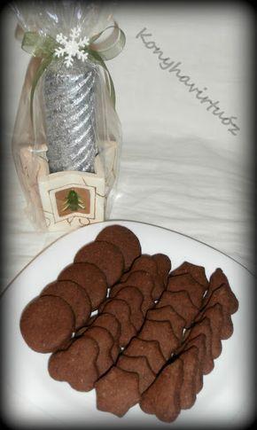 Konyhavirtuóz: Gyömbéres kakaós keksz