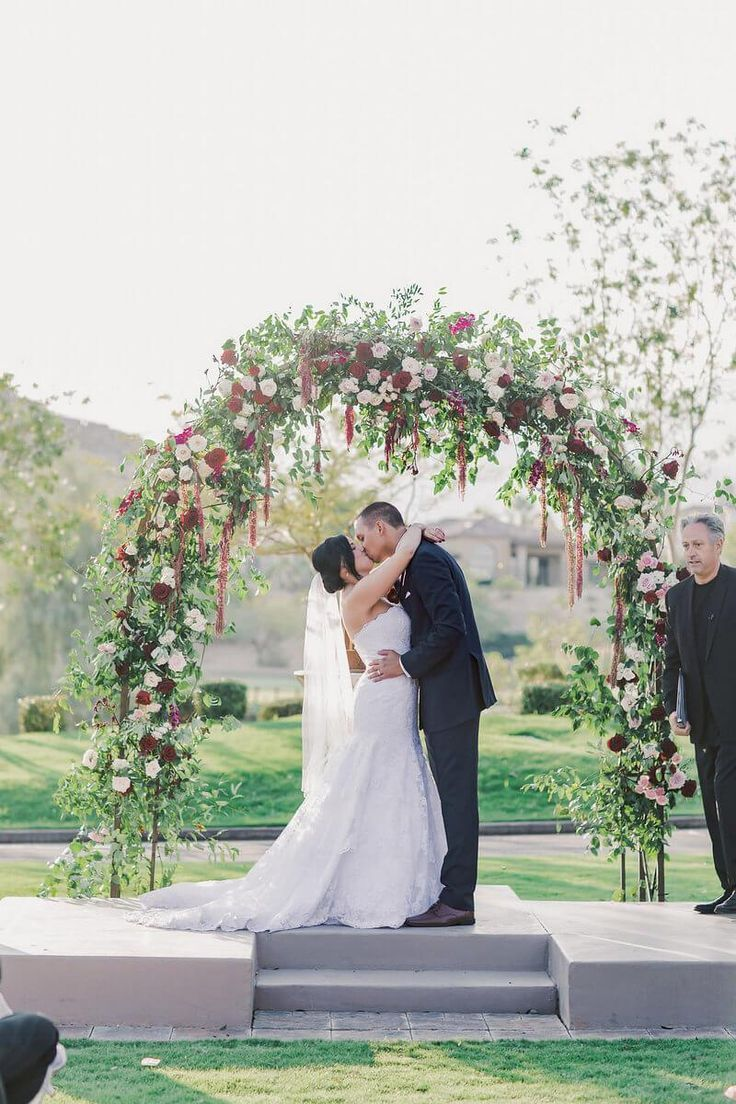 Elegant Las Vegas Wedding Flowers Greenery Pinterest