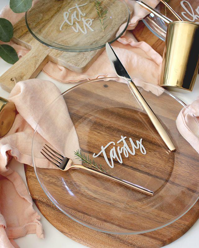 Decorative Party Plates