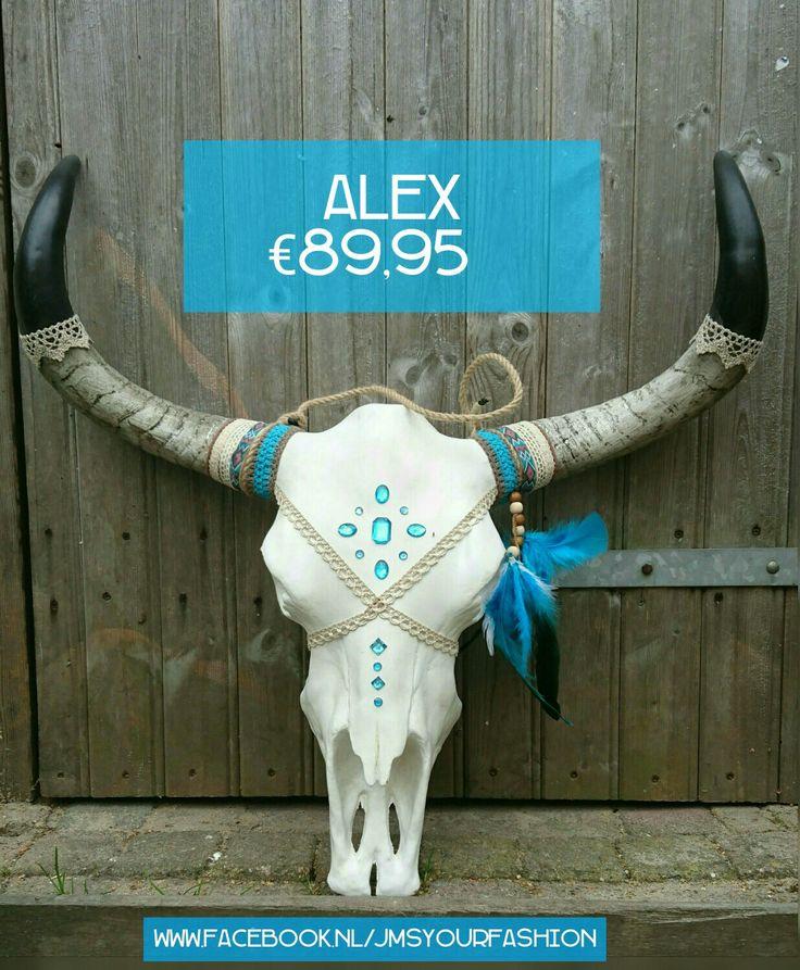 #Ibizaskull #buffelschedel#standaard #handmade #handgemaakt #skull #jms #beige #grijs #bruin #natuur #ibiza Www.facebook.nl/jmsyourfashion