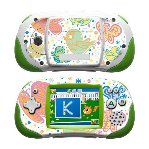 Birds & Butterflies Design Protective Decal Skin Sticker for LeapFrog Leapster Explorer Learning Tablet by MyGift. $12.99. Covers the front and back of your Learning Tablet while keeping it fully functional through the use of cutout sections for all buttons and speakers.. The slim-fit design keeps the LeapFrog Leapster Explorer compatible with most cases and accessories. It IS NOT a hard case cover / faceplate.. Pastel Birds & Butterflies art-quality design.. Fends off th...