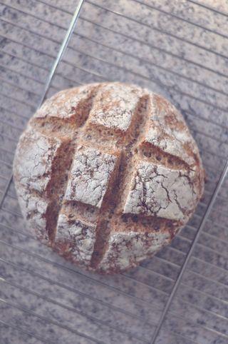 Jeg holder helt utroligt meget af brød. Godt brød med (lidt for meget) smør er noget af det dejligste, jeg ved. Og hvis brødet tilmed er hjemmebagt, så er det ekstra godt. Jeg bager ofte nogle nemme,