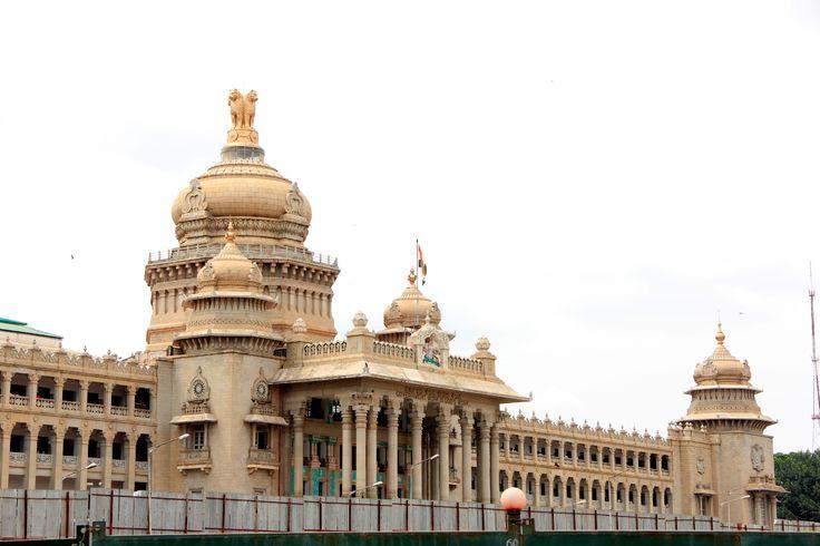 Vidhana Soudha Bangalore Incredible India tours @ www.tajvoyages.com.au