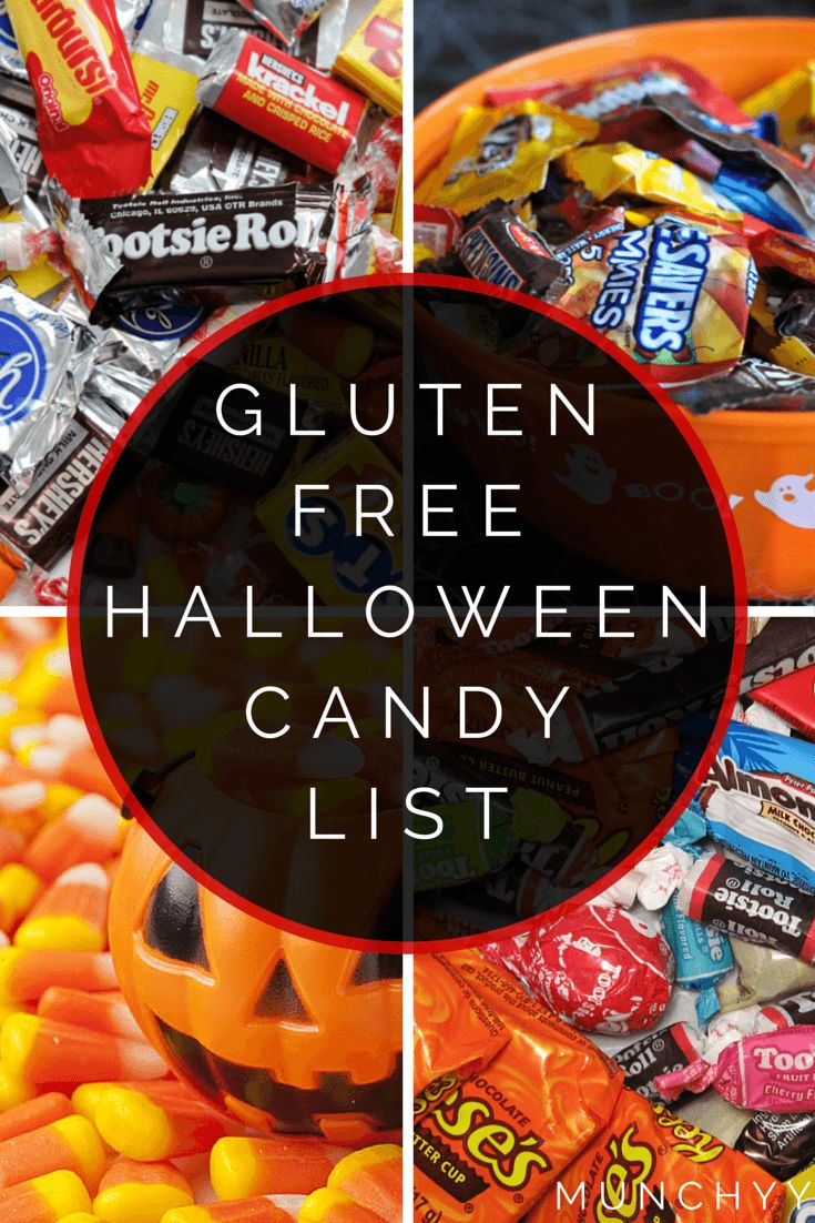 Here's the ultimate gluten free halloween candy list that contains all the sweets that are safe to eat for anyone on a gluten free diet. Enjoy!: