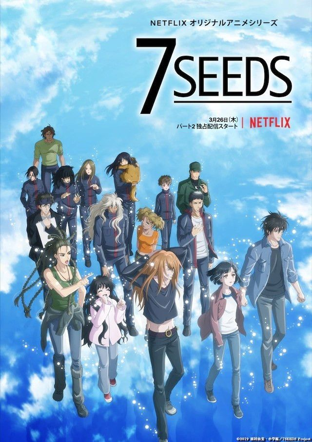 Affiche 7 Seeds in 2020 (With images) Anime, Netflix