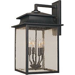 @Overstock.com - Setting: Outdoor  Fixture finish: Rust  Number of lights: Four (4)http://www.overstock.com/Home-Garden/World-Imports-Sutton-Collection-4-light-Outdoor-Wall-Sconce/6275192/product.html?CID=214117 $232.20