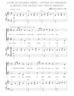 SINGING TIME IDEA: For Sacrament Meeting...Mother's Day Medley for Primary Singing Time.
