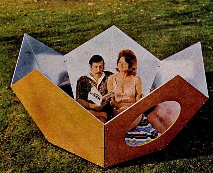 a modern bowl for sun bathing, ken isaacs, 1970