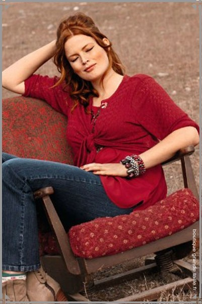 18 best bol ro femme ronde images on pinterest plus size beige and loom knit. Black Bedroom Furniture Sets. Home Design Ideas