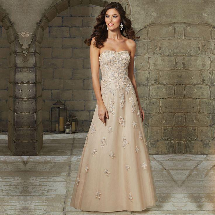 Nach Maß Vestido de Noite Mode Appliques Formale Kleid Glamorous Trägerlosen Hals Weg Von der Schulter Abendkleider 2016 //Price: $US $81.70 & FREE Shipping //     #dazzup