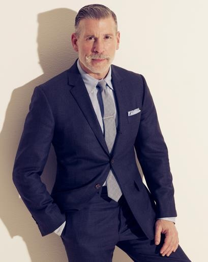 Nick in blue: Nick Wooster, Men Wooster, Men Style, Collars, Style Icons, Men Fashion, Men'S Fashion, Navy Suits, Matching Shirts
