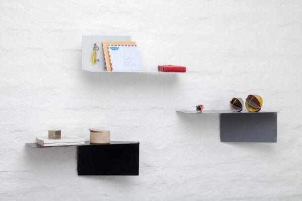 TASARIM & URETIM • Plateau: Adaptable Wall Shelves by Felix...