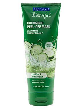 Face Mask || Cucumber Peel-Off Mask- Clarifies & Renews Skin (normal & combination skin)