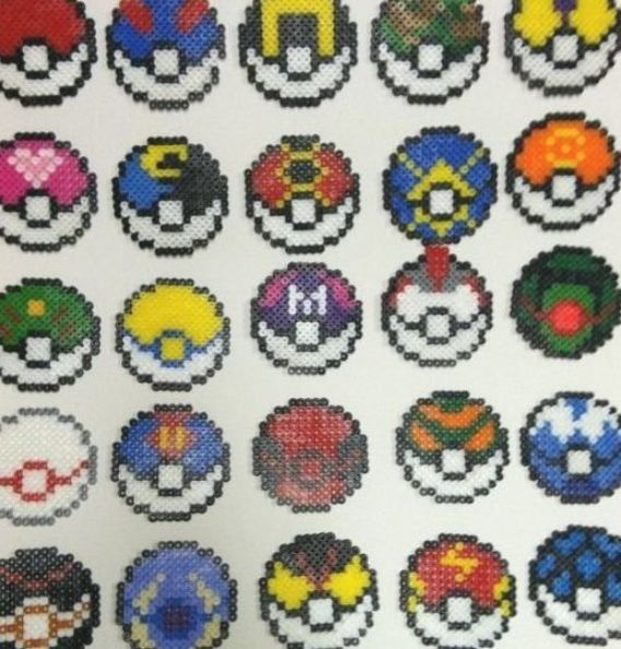 Pokemon Fuse Beads Bugelperlen Pokemon Perler