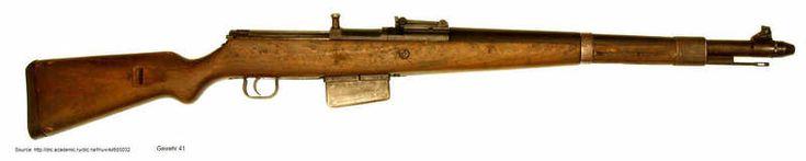 Gewehr 41 semi-automatic rifle