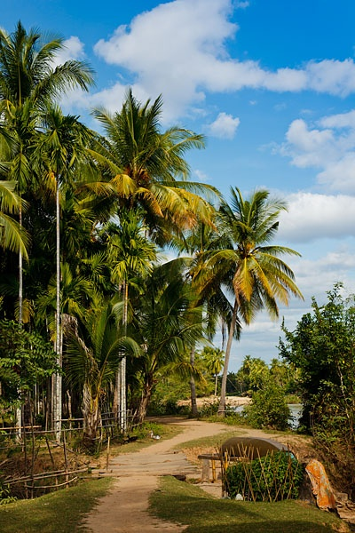 Everyday life and scenery on Don Det Island, which forms part of the Four Thousand Islands and is known locally as Si Phan Don.