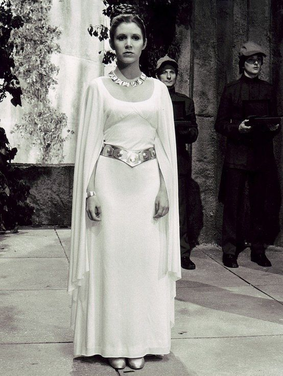 Leia Organa. I loved this dress as a child. Now I'd love to do both a mod 60s version, and a prequel costume level version.
