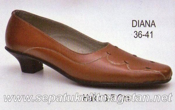 Sepatu Kulit Asli Wanita CJ Diana