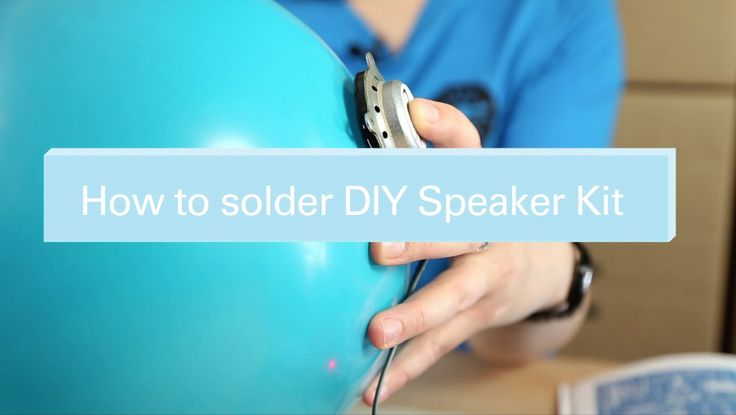 On this tutorial our expert Elena will show you how to solder all the components on the PCB for you DIY Speaker Kit! Enjoy and get making!! :)