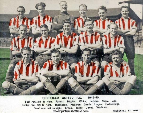 Sheffield United Football Club, 1949-1950