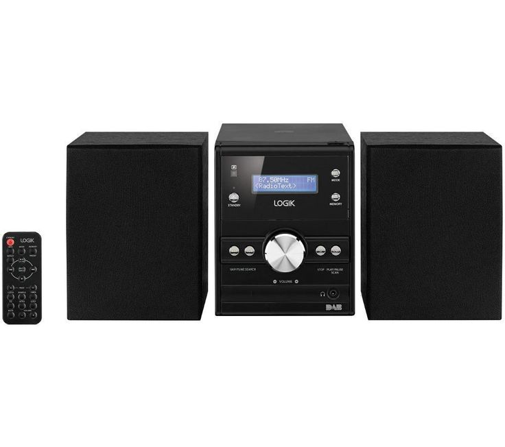 LOGIK  LHFDAB14 Traditional Hi-Fi System, Black Price: £ 49.99 Explore DAB radio and enjoy your CD collection at home with the Logik LHFDAB14 Traditional Hi-Fi System . DAB Radio Digital Audio Broadcasting (DAB) is the perfect way to enjoy your favourite radio stations with improved quality and stability. DAB also offers access to radio stations not normally available in your area along with...