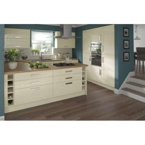 Cream Kitchen Doors: 1000+ Ideas About Cream Gloss Kitchen On Pinterest