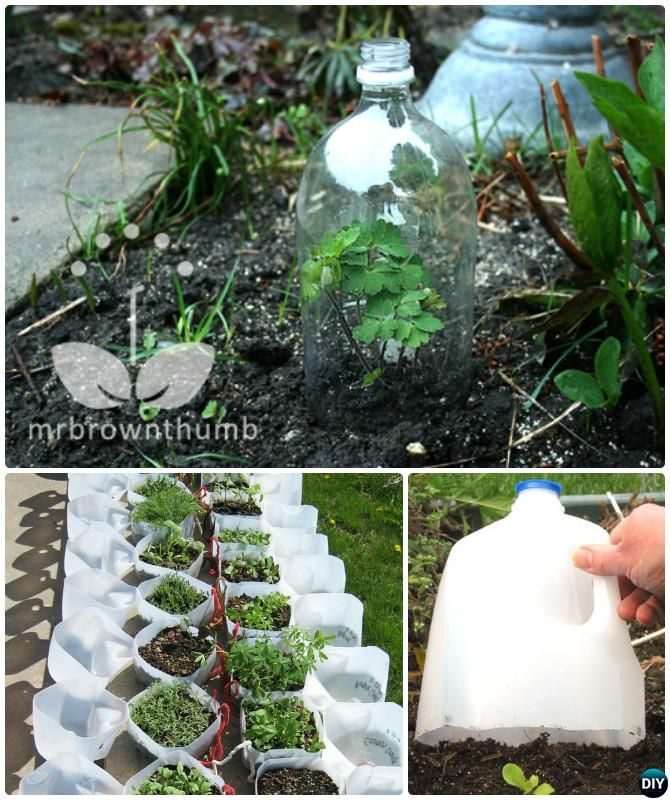 DIY Recycled Milk Jug Plastic Bottle Instruction-18 DIY Green House Projects Instructions