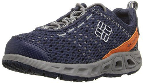 Quick drying and ventilated hybrid land, boat and water shoe.  http://shoes.bestselleroutlet.net/product-review-for-columbia-childrens-drainmaker-iii-hybrid-shoe-toddlerlittle-kid/