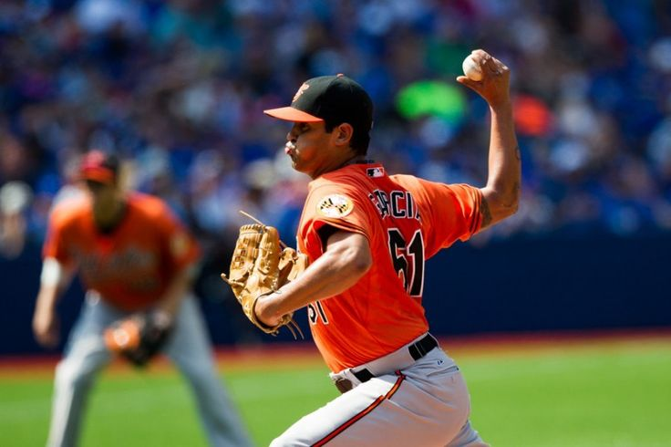 Orioles recall Jason Garcia = The Baltimore Orioles have recalled right-handed pitcher Jason Garcia. The move is made to help add some depth to the arms on Baltimore's roster.  Drafted by the Boston Red Sox in the 17th round of the 2010 MLB.....