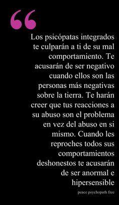 #Abuso #Maltrato #GenteToxica #Narcisistas #PsicópatasIntegrados https://sobreviviendoapsicopatasynarcisistas.wordpress.com/