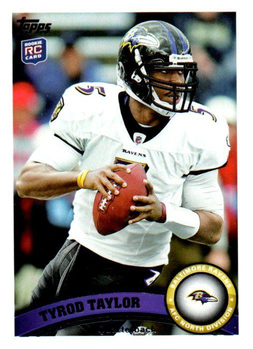 2011 Topps Tyrod Taylor Rookie Card Baltimore Ravens Buffalo Bills