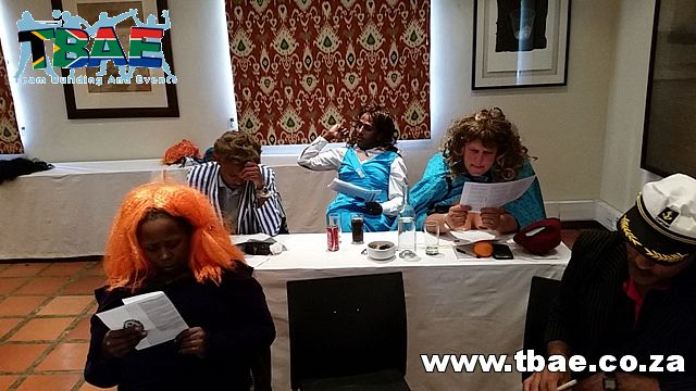 Shell Refining Amazing Race and Murder Mystery Team Building Stellenbosch #Shell #TeamBuilding #MurderMystery