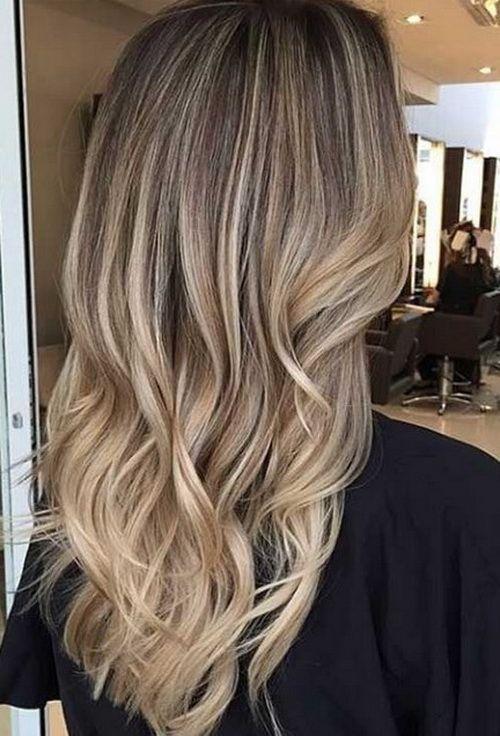 10 attraktivste lange blonde Frisuren 2018 luxuriös und feminin – Madame Frisuren