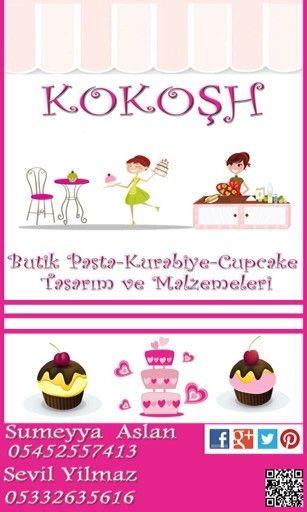 Kokoşh pasta- kurabiye-cupcake tasarim ve malzemeleri malzemesiz olmaz