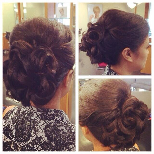Bridal trial by Izzy at Mario Tricoci Orland Park