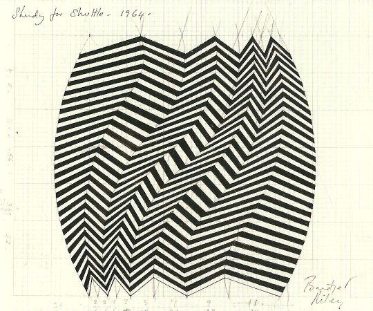 Sunspel Inspiration bridget riley stripes