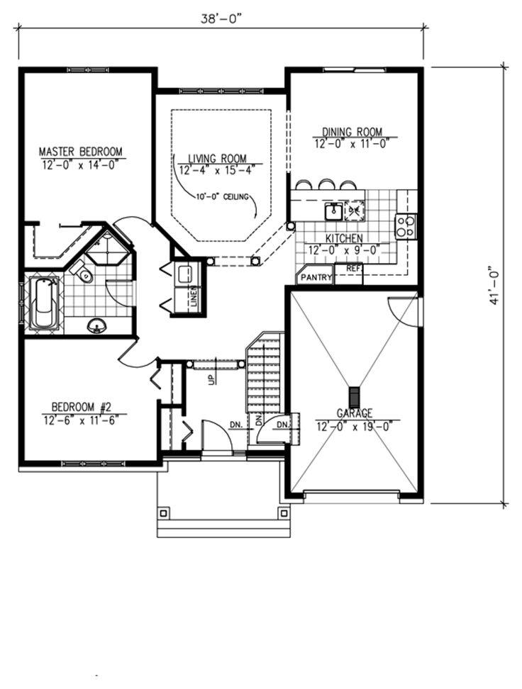 Bedroom House Plans Open Floor
