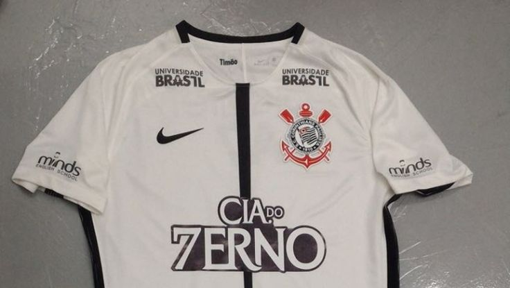 Sport Club Corinthians Paulista -   Neste domingo, patrocinadores alteram logo para homenagear Hepta no manto alvinegro