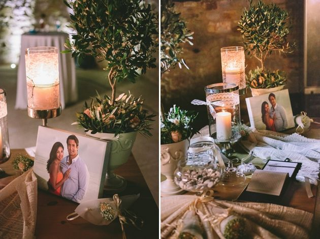 Olive Tree Decorations for a Wedding In Messinia by StellaAndMoscha -Photography: Thanos Asfis  Greek Wedding