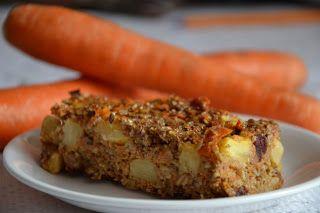 Szybkie gotowanie: Dietetyczne ciasto marchewkowo - ananasowe