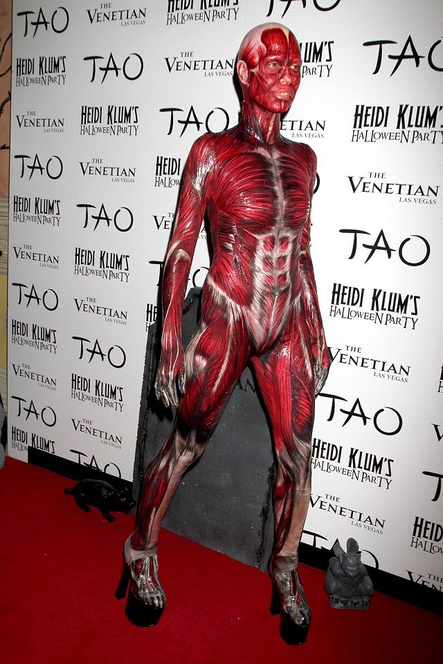 Click here for some Halloween costume inspiration from Heidi Klum!