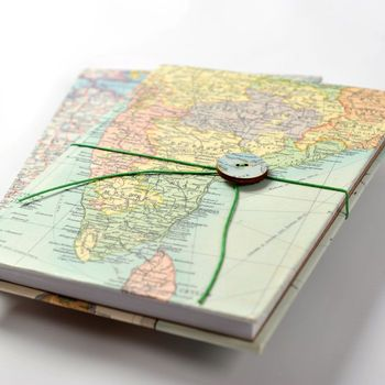 65 best map jewelry keychains images on pinterest key chains personalised map location travel journal notebook gift vintage world gumiabroncs Gallery