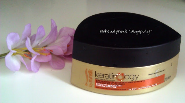 Beauty Insider: Review : Mάσκα Μαλλιών από το Σύστημα εντατικής Αναδόμησης #KeratinologybySunsilk
