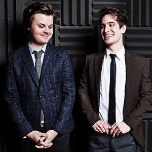 Omg they're so cute, Panic! at the Disco, Brendon and Spencer (':