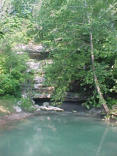 Short Creek, east of Somerset, KY. Compliments of Doublehead Trading Co, Cambridge City, IN