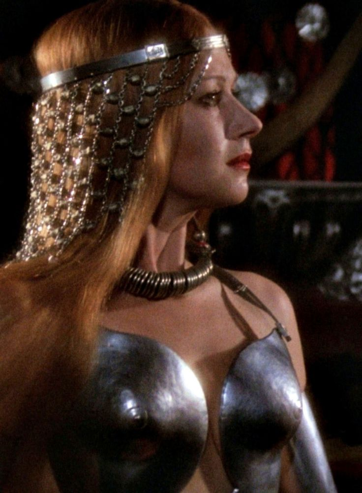 "Helen Mirren as Morgana le Fay in ""Excalibur"" (1981)"